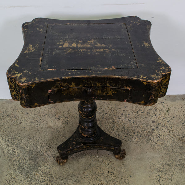 A Napoleon III Chinoiserie Games Table