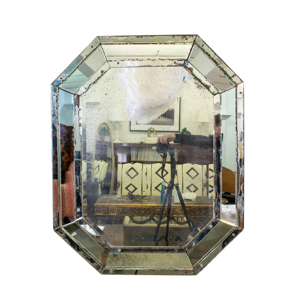 Early 20th Century Octagonal Venetian Mirror
