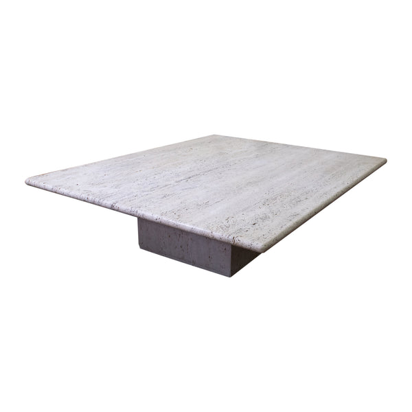 A large Travertine Coffee Table