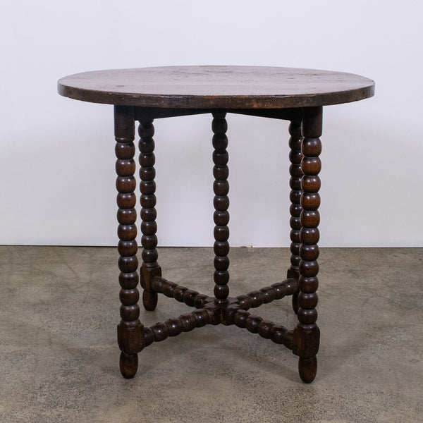 19th Century English Oak Side Table