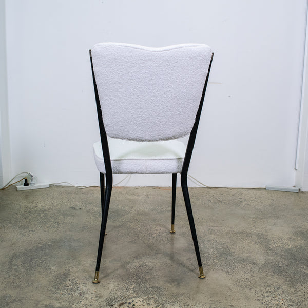 Set of Eight Italian Mid-Century Side Chairs