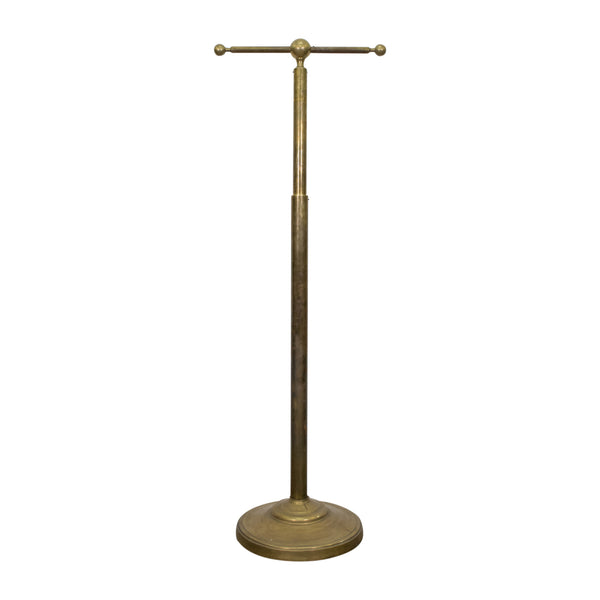 Art Deco Brass Coat Rack