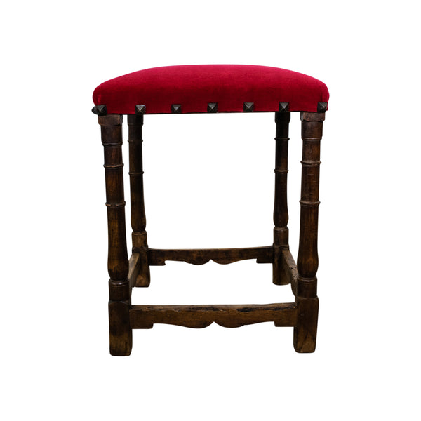 18th Century Spanish Walnut Stool