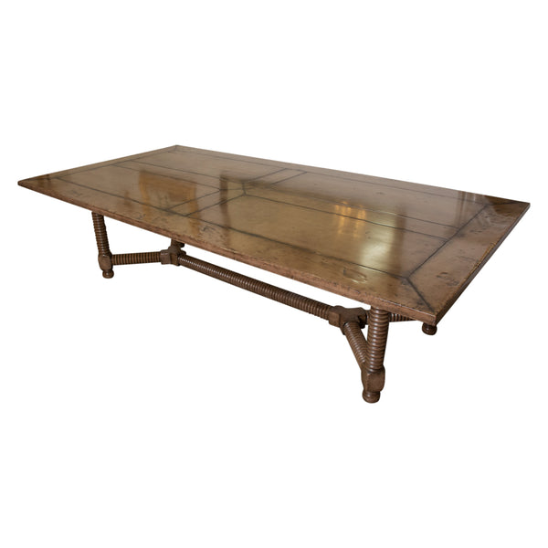 A Large Spanish Style Dining Table