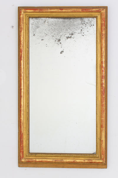 A Louis Phillippe Giltwood Mirror