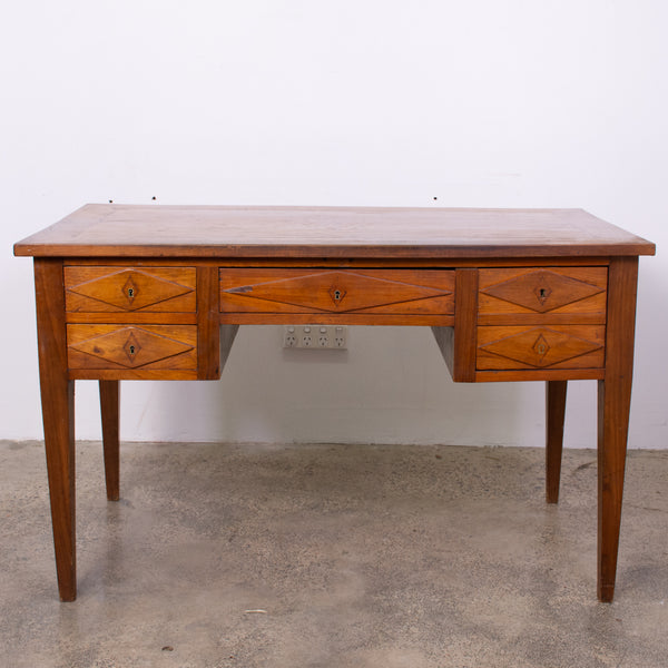 Antique French Neo-Classical Cherrywood Bureau Plat