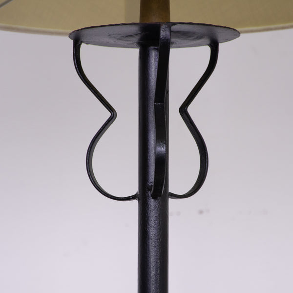 Pair of Iron Standard Lamps