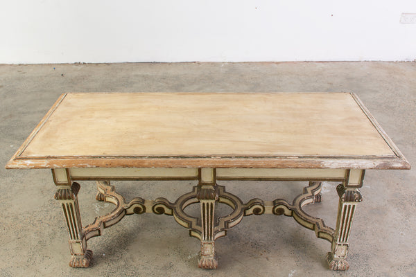 A Neo-Classical Painted Coffee Table