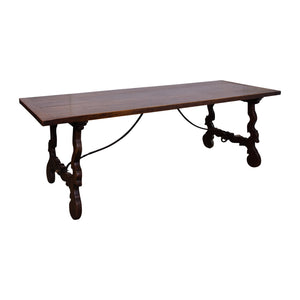 Antique Spanish Oak Dining Table