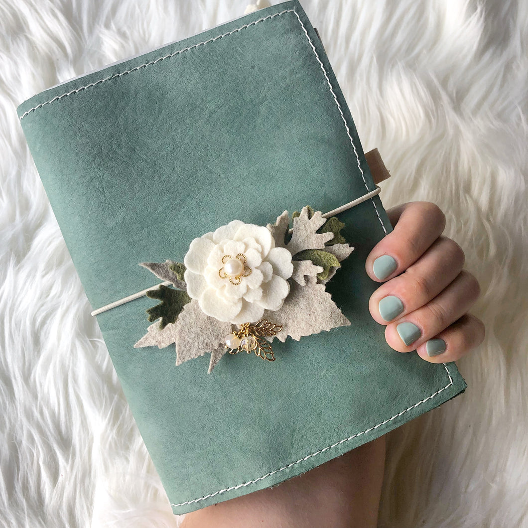 Seafoam Notebook Cover