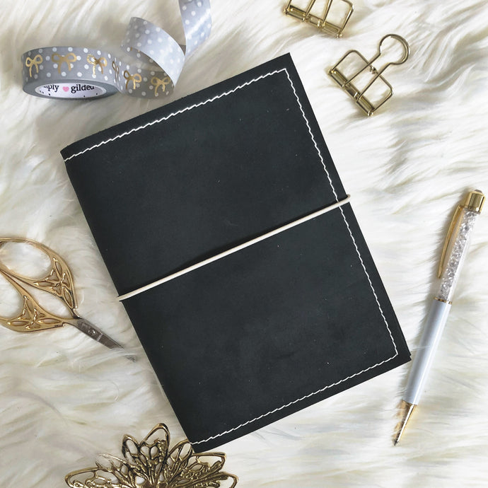 Charcoal Traveler's Notebook
