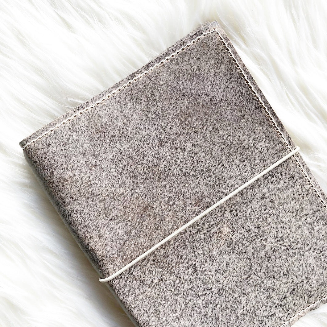 Moonstone/Marbled Moonstone Notebook Cover