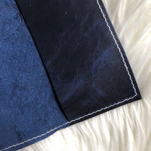 Blue Goldstone/Marbled Blue Goldstone Notebook Cover