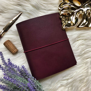 Merlot Traveler's Notebook