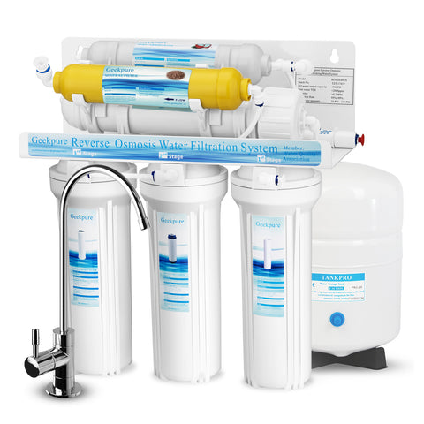 6-Stage Reverse Osmosis Water Filter System with Various Mineral Filter-75GPD
