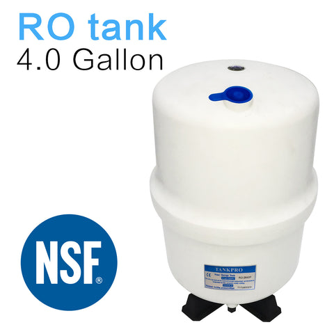 4.0 Gallon RO Water Storage Tank for Reverse Osmosis Systems -NSF Certificated
