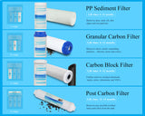 Replacement Pre-Filter Sets for Geekpure Reverse Osmosis RO5 Series System (RO5-4)