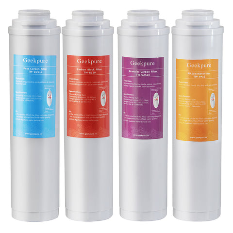 Replacement Pre-Filter Sets for RO-TW (Model Number:TW-PACK 4)
