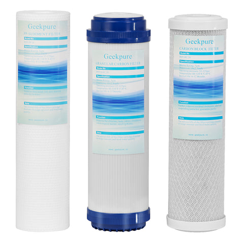Replacement Pre-Filters Set for Geekpure Reverse Osmosis RO5 Series System (RO5-3)