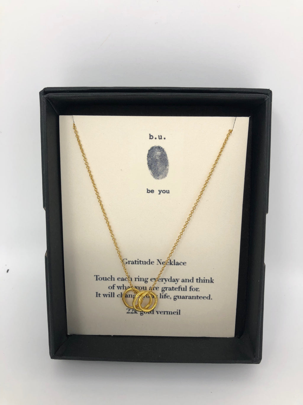 """Gratitude Necklace"""