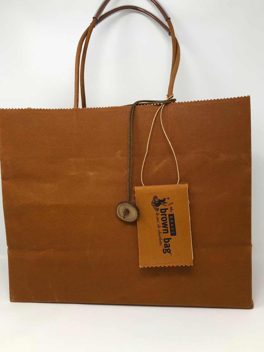 The Brave Brown Bag - Classic Carryall