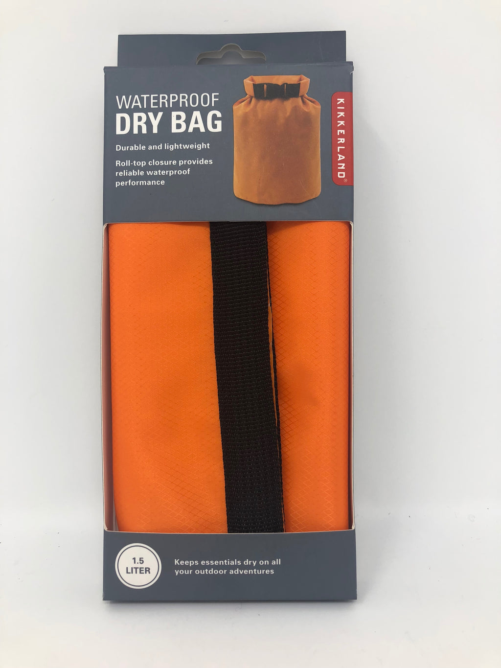 Waterproof Orange Dry Bag (1.5 liter)