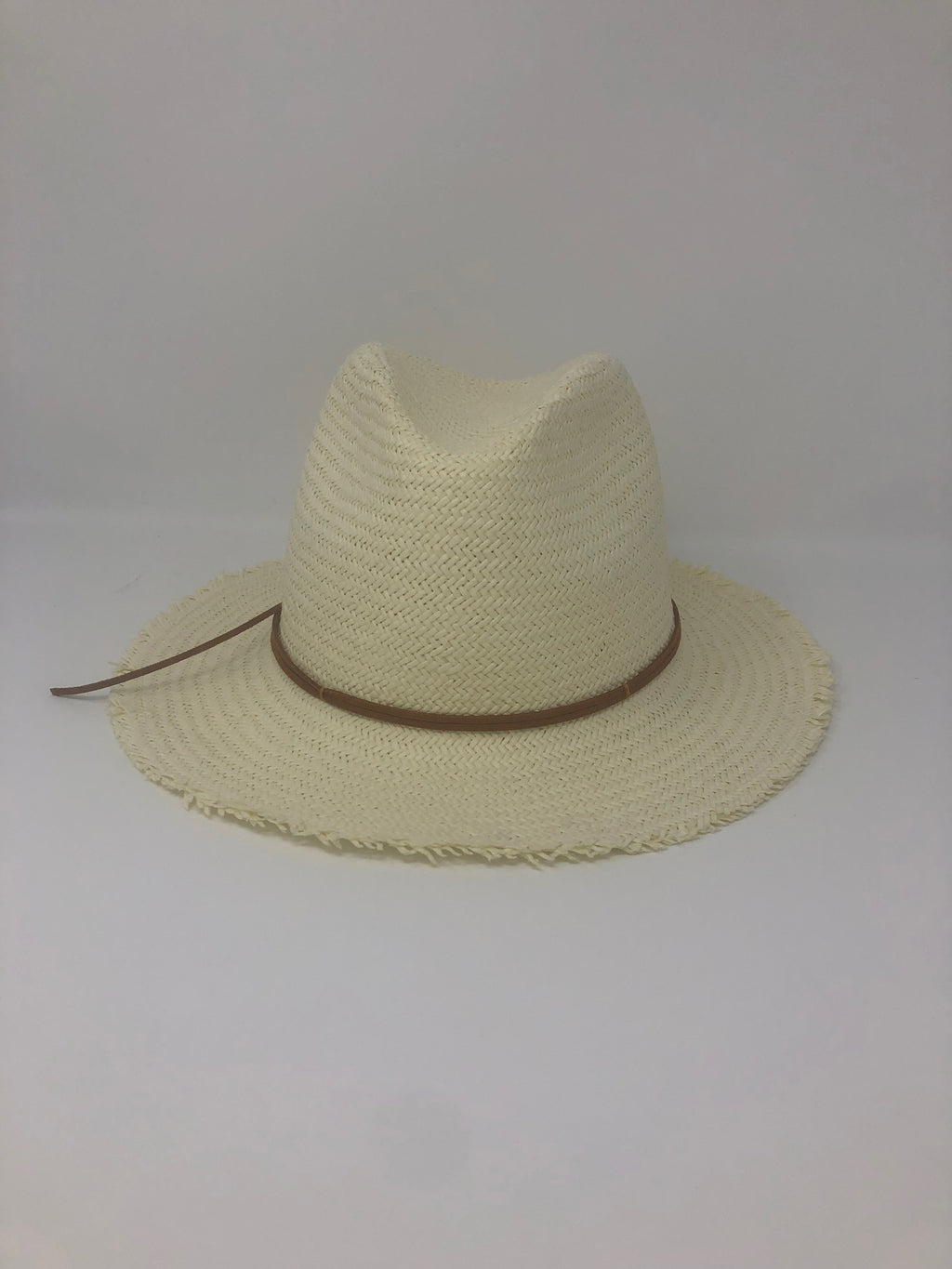 Fringed Ivory Sun Hat