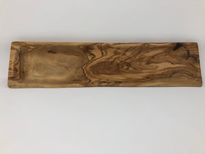 Small Wooden Baguette Bread Tray