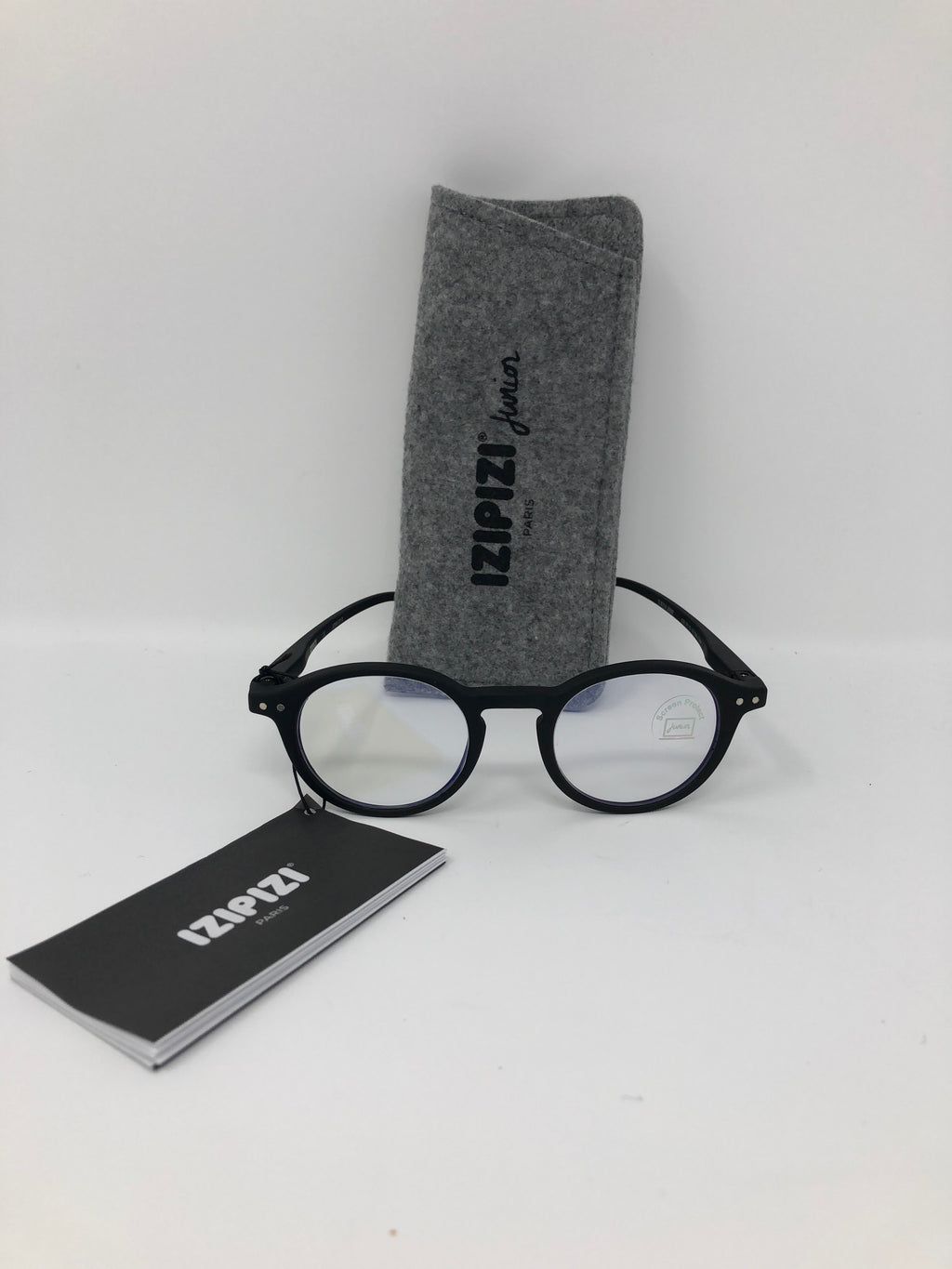 Izipizi Junior Glasses for Screens (Black Frames)