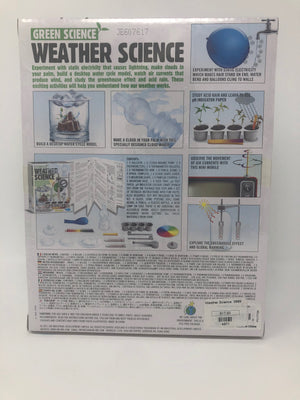 "Green Science ""Weather Science"" Kit for Kids (8+)"