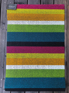 Bold Stripe Multi-Color Indoor/Outdoor Mat