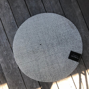 "Chilewich Shag Circular Indoor/Outdoor Carpet (24"")"