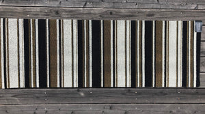 Mixed Stripe Luxe Indoor/Outdoor Mat