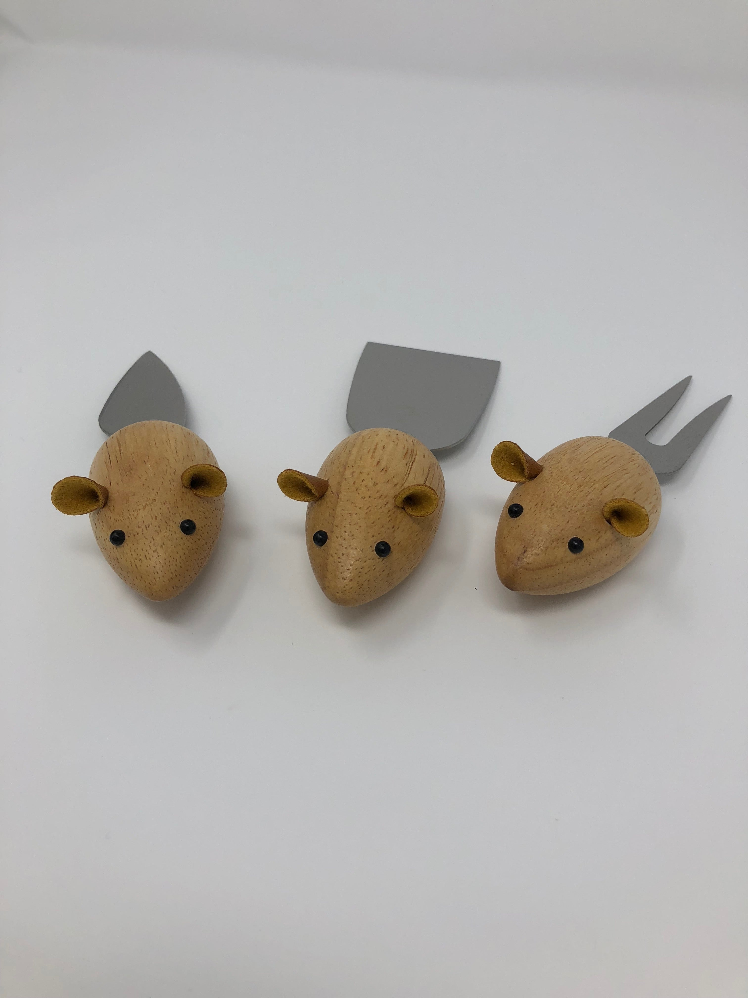 Three Blind Mice Cheese Knives