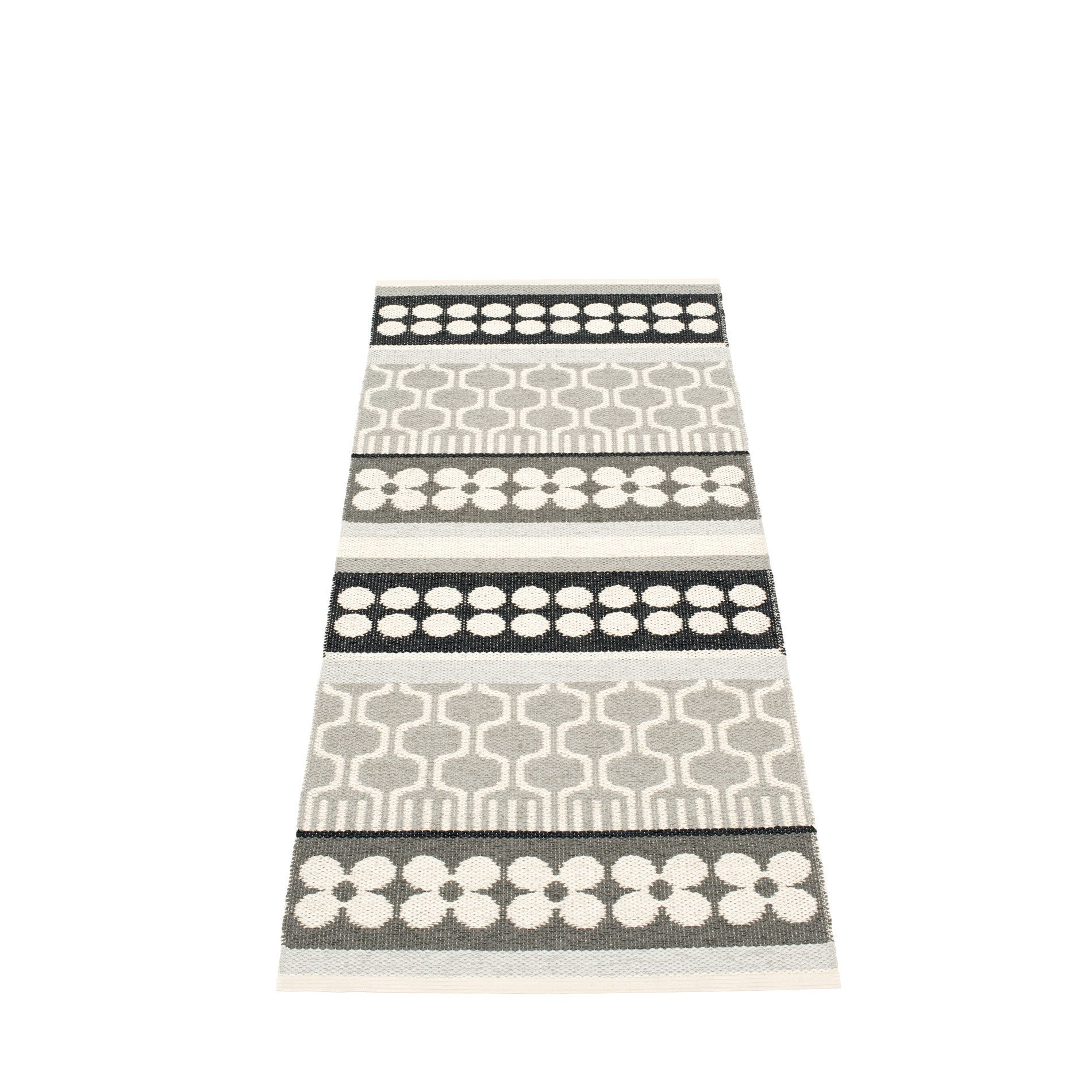 "Pappelina Indoor/Outdoor Rug Asta Warm Grey (70cm x 180cm) or (27.6"" x 70.9"")"