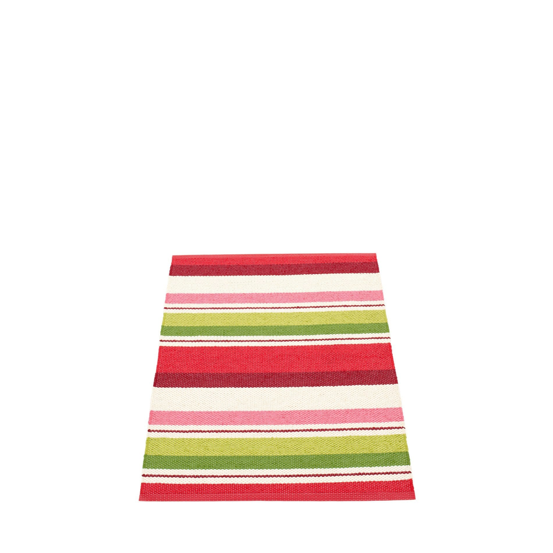 "Pappelina Indoor/Outdoor Plastic Rug Folke Red (70cm x 100cm) or (27.6"" x 39.4"")"