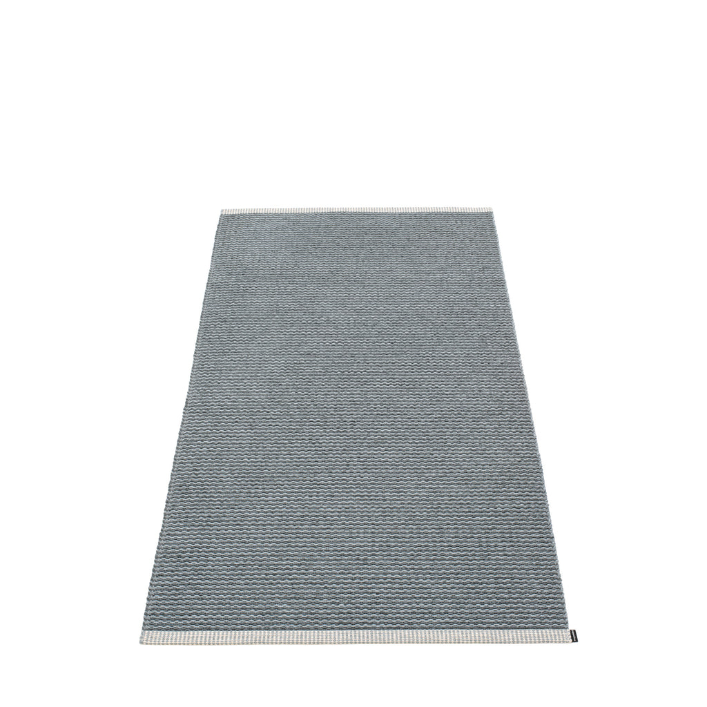 "Pappelina Indoor/Outdoor Rug Mono Charcoal Warm Grey (85cm x 160cm) or (33.5"" x 63"")"