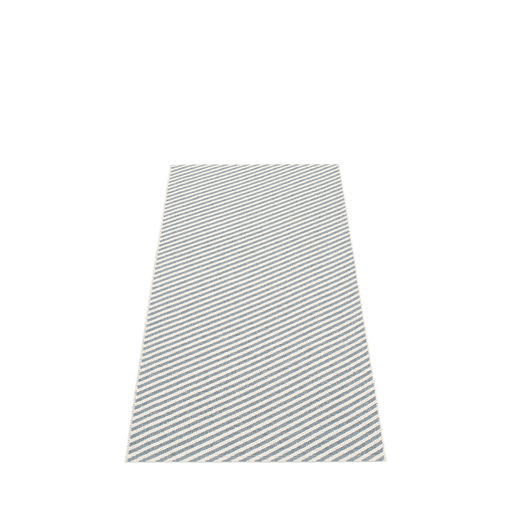 "Pappelina Indoor/Outdoor Rug Will Storm/Vanilla (70cm x 150cm) or (27.6"" x 59.1"")"