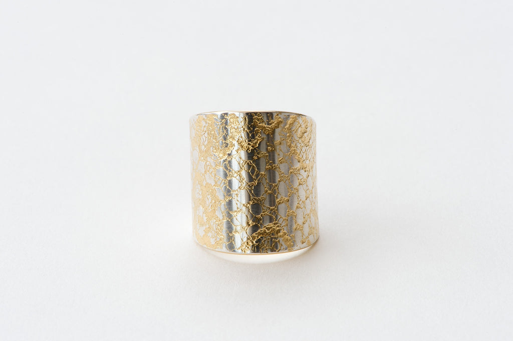 Ring, Chantilly Lace - gold/silver
