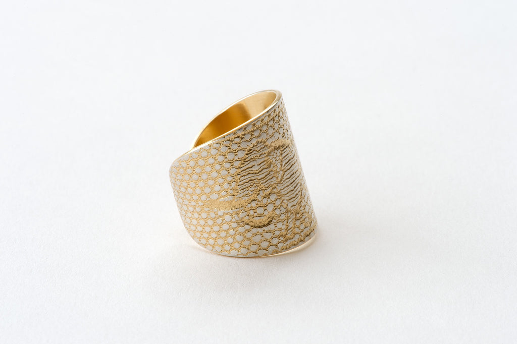 Ring, Elephant - gold/silver