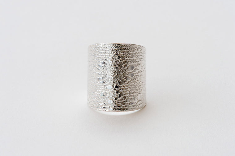 Ring, Italian Lace - silver