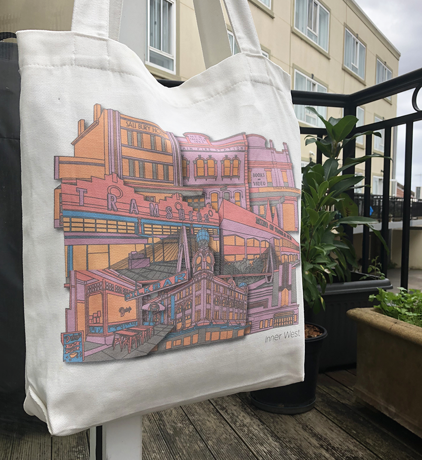 Inner West Tote Bag