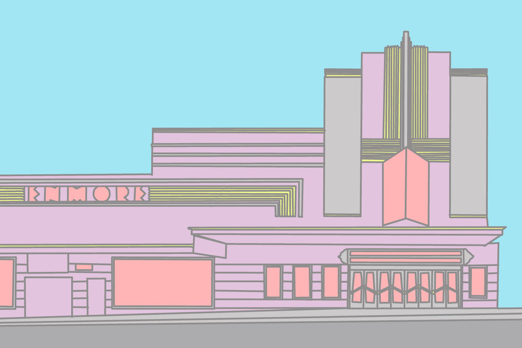 Enmore Theatre a6 or a5 Print