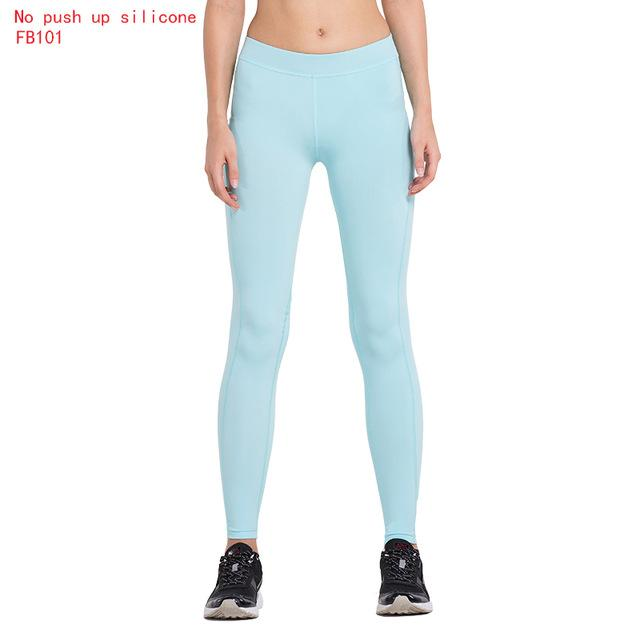 Women's  Sexy Hips Push Up Leggings Tights Fitness Yoga Pants Quick Dry Elastic Trousers