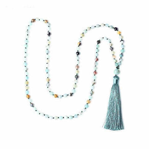 Ocean Mala Meditation Necklace