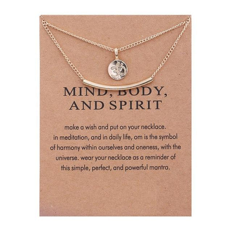 Om Symbol Meditation Necklace