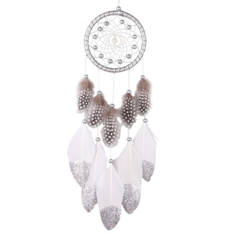 Natural Feather Dream Catcher