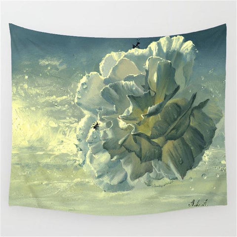 Floral Paintings Tapestry