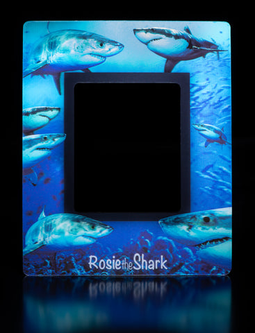 Rosie the Shark | Fridge Magnet 3D Picture Frame