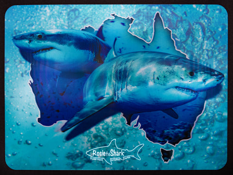 Rosie the Shark | 3D Placemat
